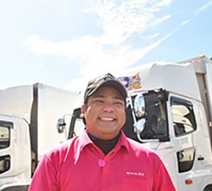 ドライバー 25歳男性 沖縄出身