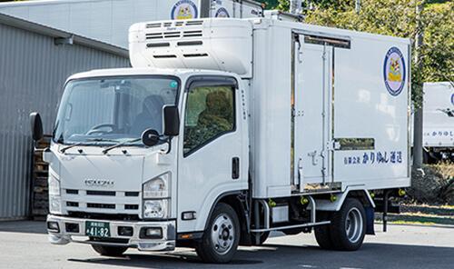 2トン冷凍車